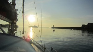 sunrise St Peterport